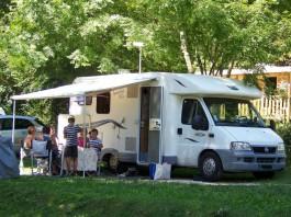 Emplacement camping car Clair Matin