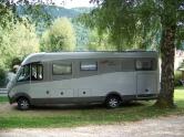 Camping car au Clair Matin