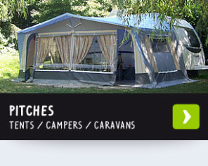 Emplacements camping, camping-car et résidents